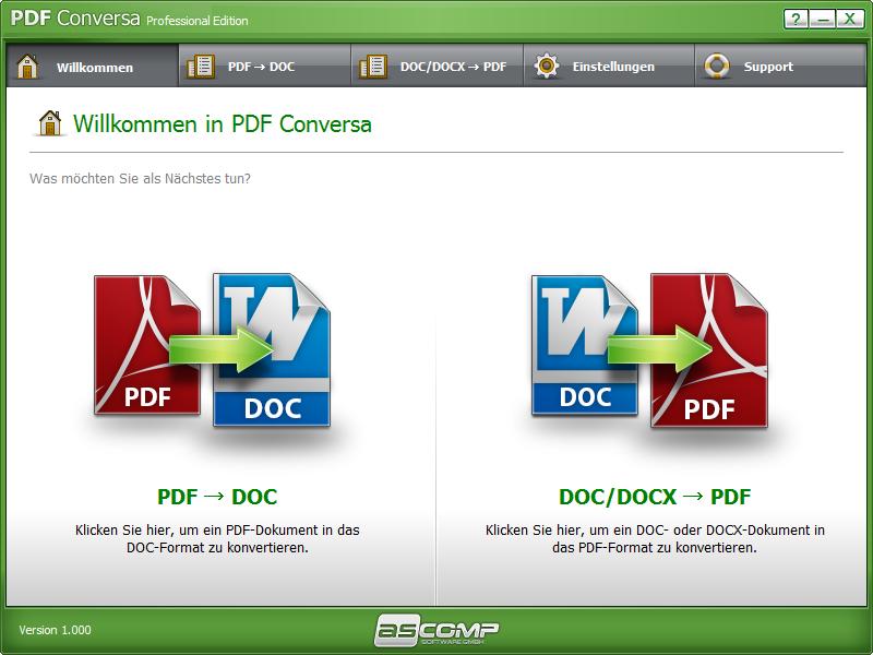 Click to view PDF Conversa screenshots